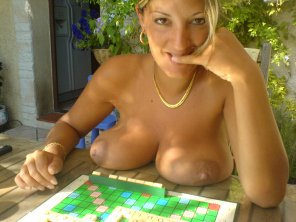 amateur photo Scrabble