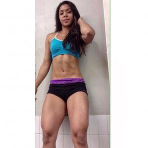 amateur photo Abs and quads