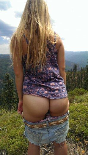 amateur photo Natural ass