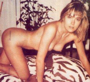 amateur photo Sharon Stone