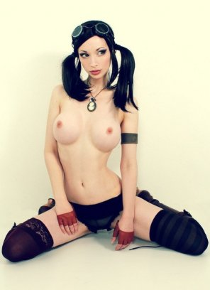 amateur photo Hot steampunk chick