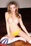 amateur photo Beth Lily with a yellow bikini