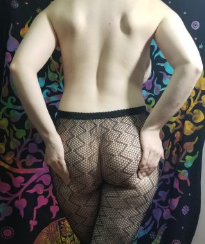 amateur photo My butt in fishnets <3 [OC]