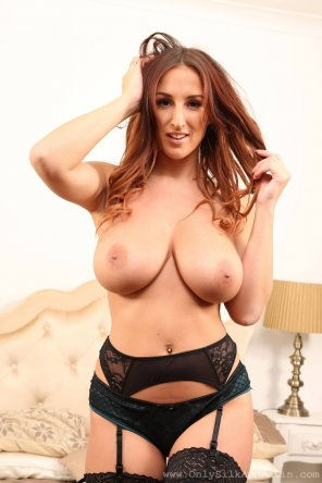 amateur photo Stacey Poole with wild hair