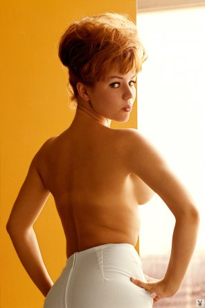 amateur photo Gay Collier, Playboy's Playmate of the Month, July 1965