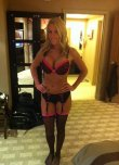 amateur photo Pink and black