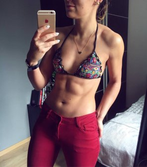 amateur photo Nice abs
