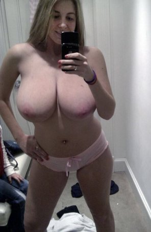 amateur photo In the dressing room