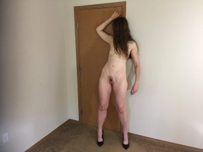 amateur photo My wife and her long legs.