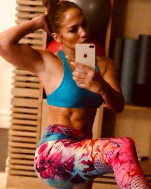 amateur photo Jennifer Lopez