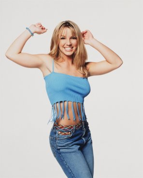 amateur photo Britney Spears, 18 years old, 1999