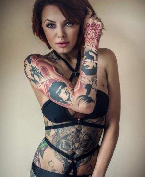 amateur photo Amazing Tattoo