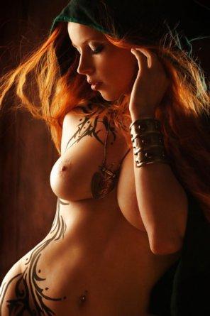 amateur photo Redhead