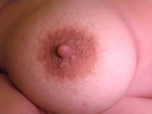 amateur photo That's my titty. It isn't perfect, but it's mine.