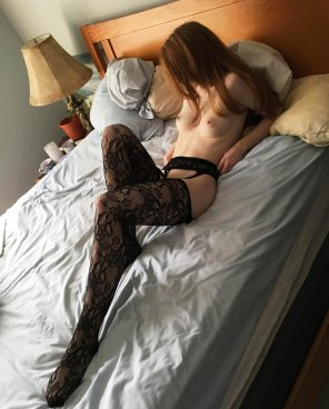 amateur photo Laying on the Bed