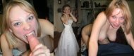 amateur photo Naughty Bride [On/Off]