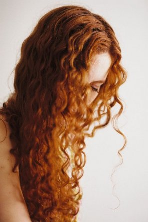 amateur photo Curly red
