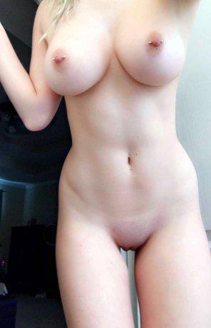 amateur photo Pale and pierced