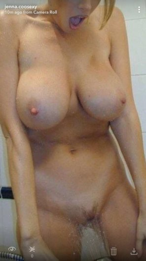 amateur photo Who wants to fuck me in the shower?
