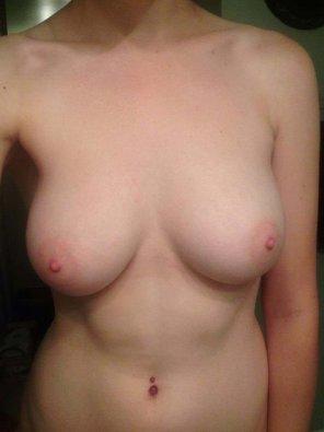 amateur photo I want you to cum on my beautiful tits! SC: pamela_morrix
