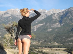 amateur photo What a great view