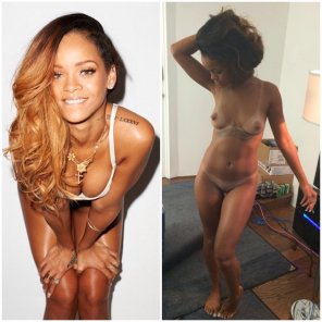 amateur photo Rihanna