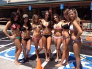 Ladies in Bikinis