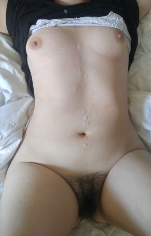 amateur photo Daddy made a good girl out of me