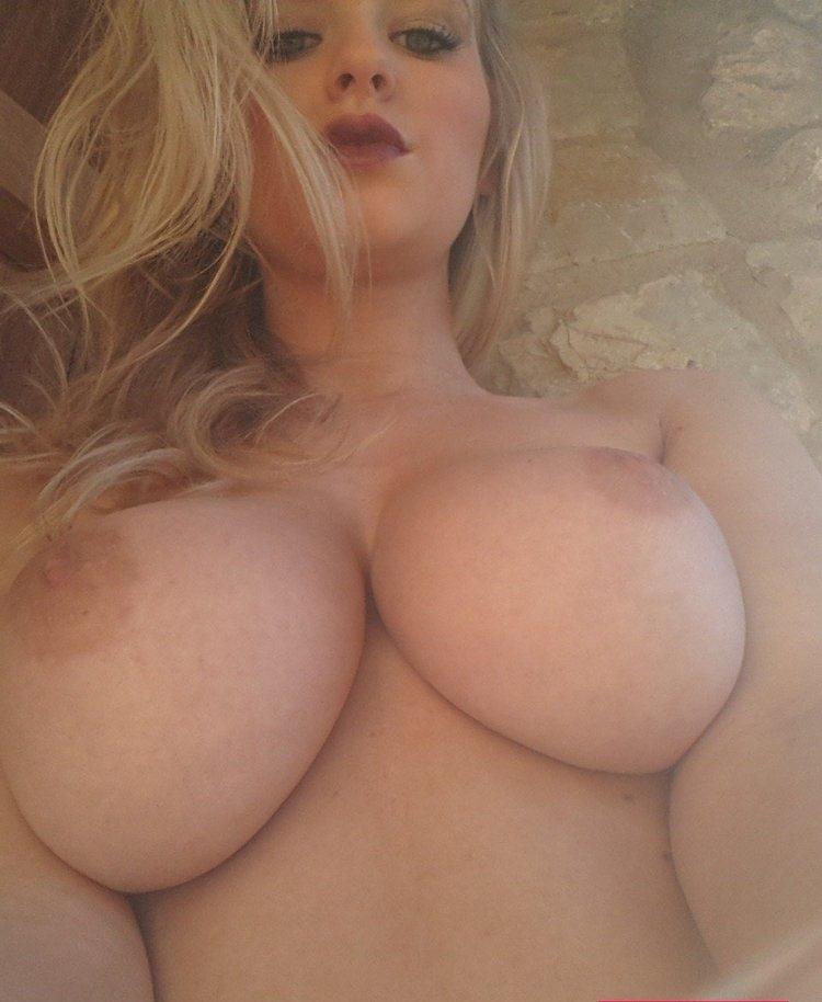 Tits selfie big