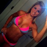 Bright Pink With A Hard Body