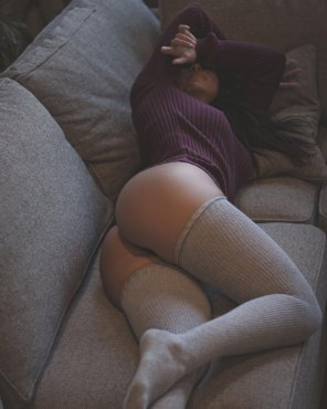 amateur photo Thigh highs