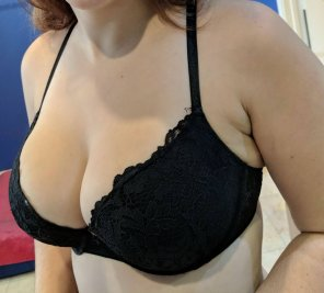 amateur photo IMAGE[Image] They sure are heavy when they fall out of her bra :-)