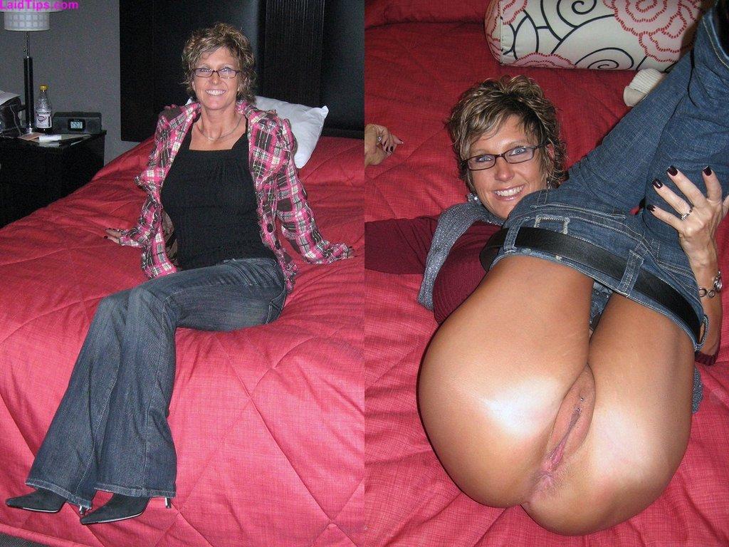Very short milf nude