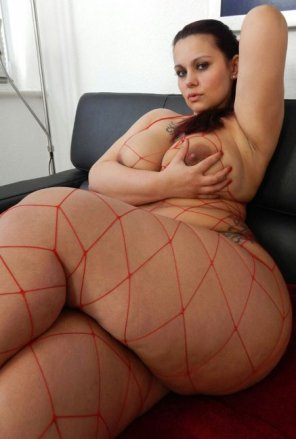 amateur photo Red netted beauty.