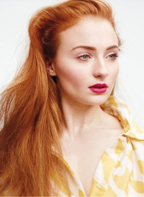 amateur photo Sophie Turner, InStyle Magazine