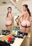 amateur photo Jenna Reid in the Mirror
