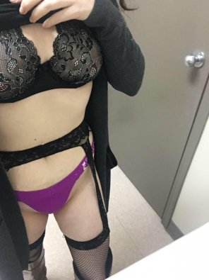amateur photo Pulling up my short dress [F]