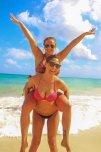 amateur photo Great bikini cleavage