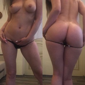 amateur photo Front and back selfie [f]