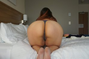 amateur photo love how the thong just cradles my 😻 ♡