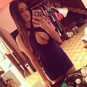 amateur photo what a great dress
