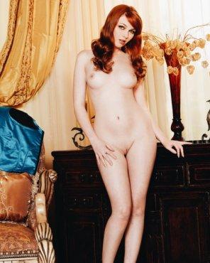 amateur photo Pale ginger...