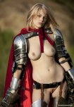 amateur photo Wearing her armor