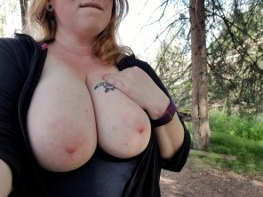 amateur photo Alone on the trail ;)