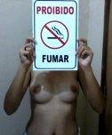 amateur photo No smoking