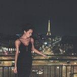 amateur photo Paris in the evening