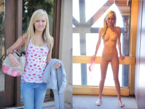 amateur photo Petite blonde