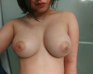 amateur photo Like my tater tits?? [f]