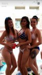 amateur photo Vicki Li and friends