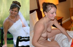 amateur photo bride exposed